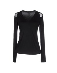 Donna Karan Topwear T Shirts Women Black