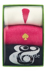 Kate Spade Women's New York 'Ampersand Exclamation Point' Crew Socks