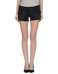Maison Clochard Denim Shorts Black