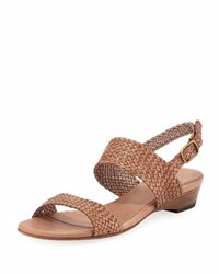Sesto Meucci Gemmy Woven Leather Sandal Neutral
