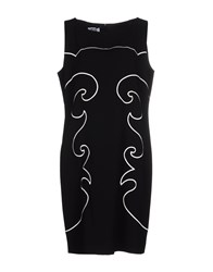 Moschino Cheap And Chic Short Dresses Black