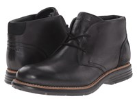 Rockport Total Motion Fusion Desert Boot Black Men's Dress Lace Up Boots