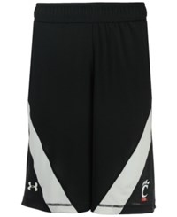 Under Armour Men's Cincinnati Bearcats Basketball Shorts Black