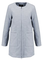 Vila Vitravels Classic Coat Light Grey Melange