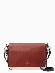 Kate Spade Cobble Hill Mayra Black Port Brown Cement
