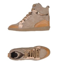 Manas Design Manas High Tops And Trainers Beige