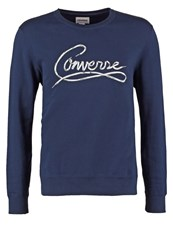 Converse Sweatshirt Nighttime Navy Dark Blue
