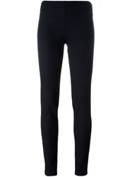 Joseph Elasticated Waist Leggings Blue