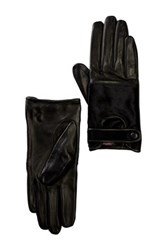 Vince Camuto Haircalf Leather Glove Black