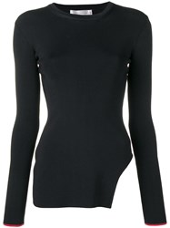 Victoria Beckham Side Cut Out Sweater Black