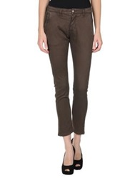 Uncode Casual Pants Dark Brown