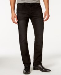 Inc International Concepts Monroe Slim Fit Black Wash Jeans Only At Macy's