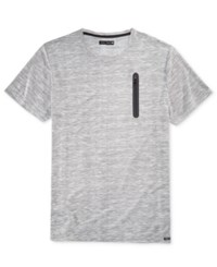 Ocean Current Men's Space Dye T Shirt Grey
