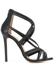 Marc Ellis Strappy Stiletto Sandals Black