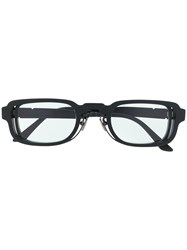 Kuboraum Rectangular Tinted Sunglasses 60