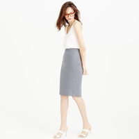 J.Crew Pinstripe Pencil Skirt