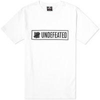 Undefeated Outline Tee White