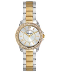 Style And Co. Watch Women's Two Tone Bracelet 28Mm Sc1373