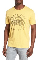 Lucky Brand Men's Sea Crab Graphic T Shirt