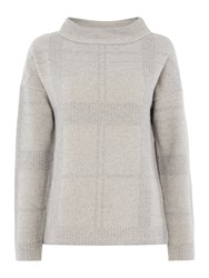 Barbour Tiree Cashmere Mix Knit Grey