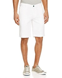 Ag Green Label Canyon Straight Leg Shorts Bright White