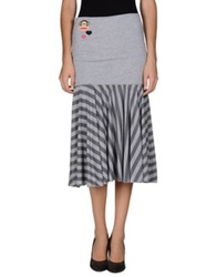 Paul Frank 3 4 Length Skirts Grey