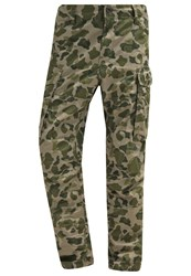 G Star Gstar Rovic Loose Cargo Trousers Shamrock Sage All Over Oliv