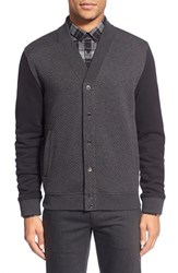 Men's Hugo 'Dives' Regular Fit Button Front Cardigan