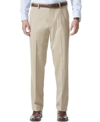 Dockers D4 Relaxed Fit Comfort Khaki Flat Front Pants