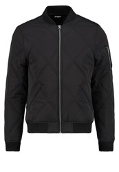 Urban Classics Big Diamond Bomber Jacket Black