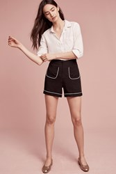 Anthropologie Belicia Shorts Black