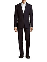 Valentino Regular Fit Woolen Suit Black