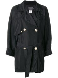 Versace Vintage Coat Black