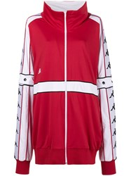 Faith Connexion Kappa Oversized Track Jacket Polyester M Red