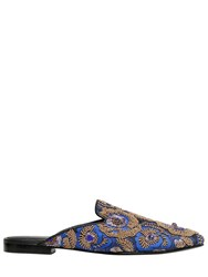 Queen Bee 10Mm Embellished Jacquard Mules