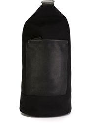 Troubadour 'Barrel' Backpack Black
