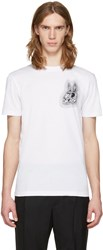 Mcq By Alexander Mcqueen White Bunny Be Here Now T Shirt