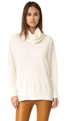 Dkny Pure Turtleneck Pullover Chalk