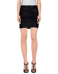 Tommy Hilfiger Denim Skirts Mini Skirts Women Black
