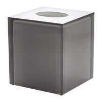 Jonathan Adler Hollywood Tissue Box Smoke