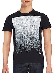 Cult Of Individuality Short Sleeve Graphic T Shirt Black