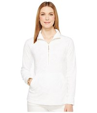 Lilly Pulitzer Skipper Popover Resort White Too Much Bubbly Jacquard Women's Clothing