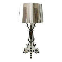 Kartell Bourgie Table Lamp Chrome Plated