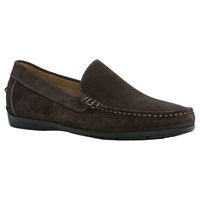 Geox Simon Suede Moccasins Coffee