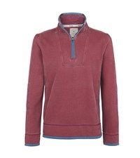Fat Face Men's Airlie Sweat Red