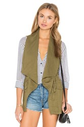 Sanctuary Summer Sunset Vest Army