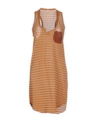 Liis Japan Dresses Short Dresses Women Brown