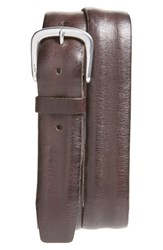 John Varvatos Men's Star Usa Leather Belt