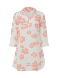 White Stuff Indo Floral Tunic Pink