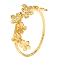 Alex Monroe Forget Me Not Stacking Ring
